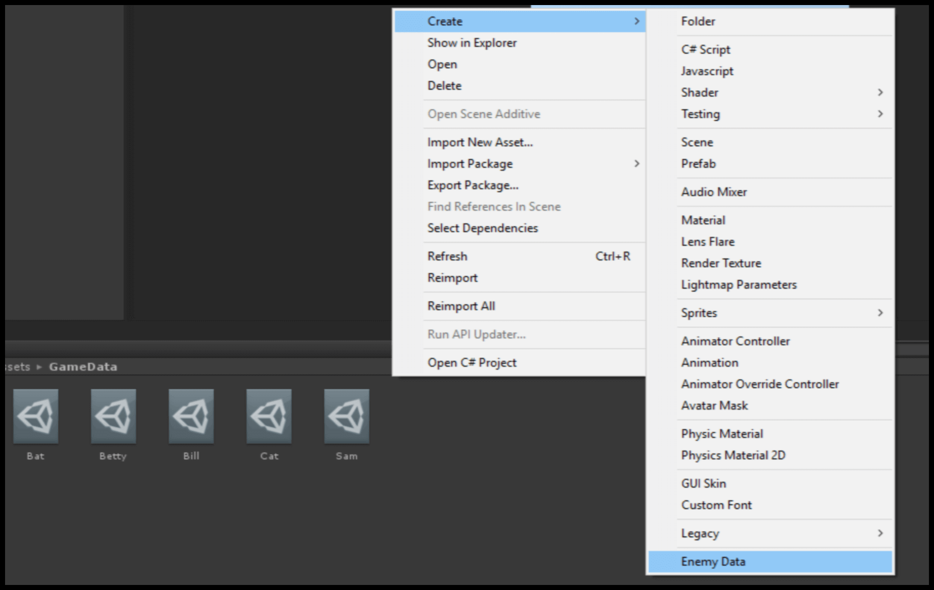 Gamasutra: Vivek Tank's Blog - Create Scriptable Objects with Unity